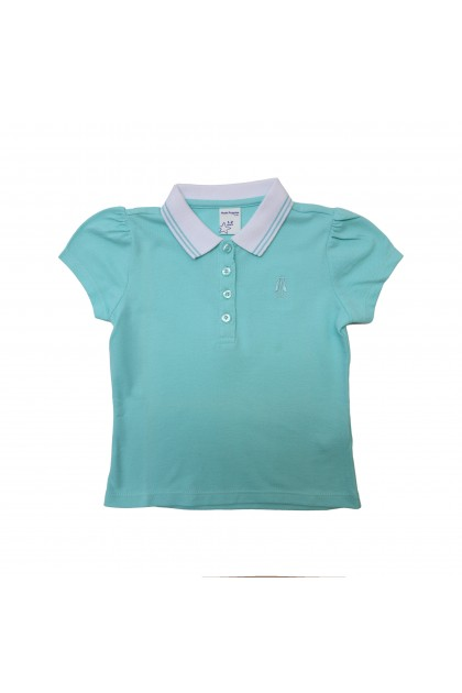 Hush Puppies Shanon Girl Polo With Embroidery | HGP873632