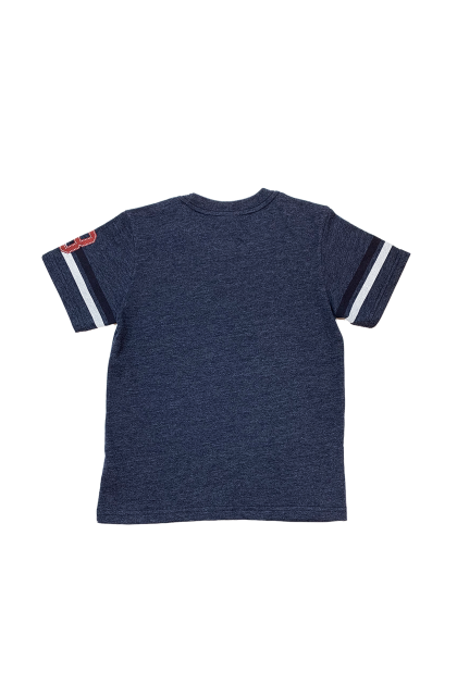 Hush Puppies-Xander Round Neck Tee With Graphic Print  |HBT049341