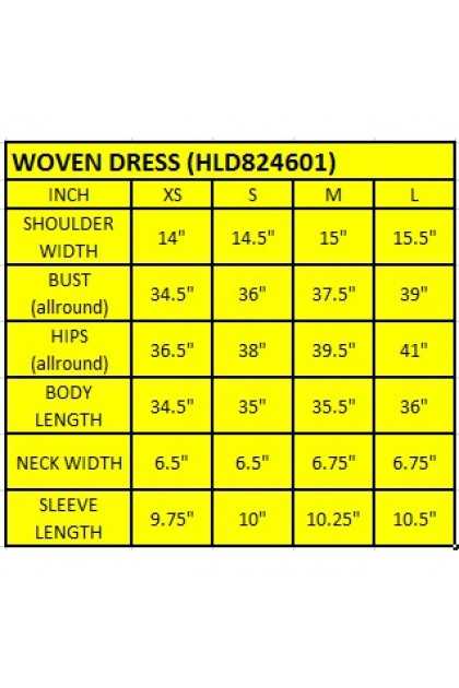 Hush Puppies Ladies Lace Dress With Collar | HLD824601